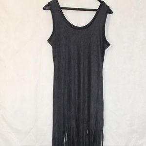 Poof fringe dress